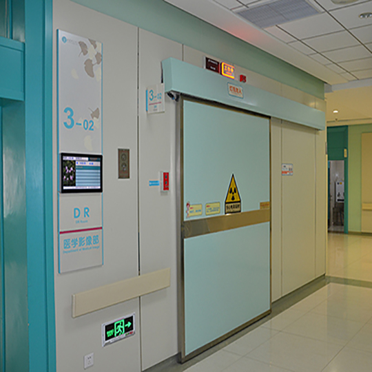 医用电动射线防护门